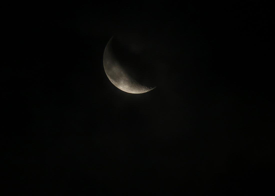 la lune, au matin du 11/01/2018 (36290/309.JPG) et avec Jupiter