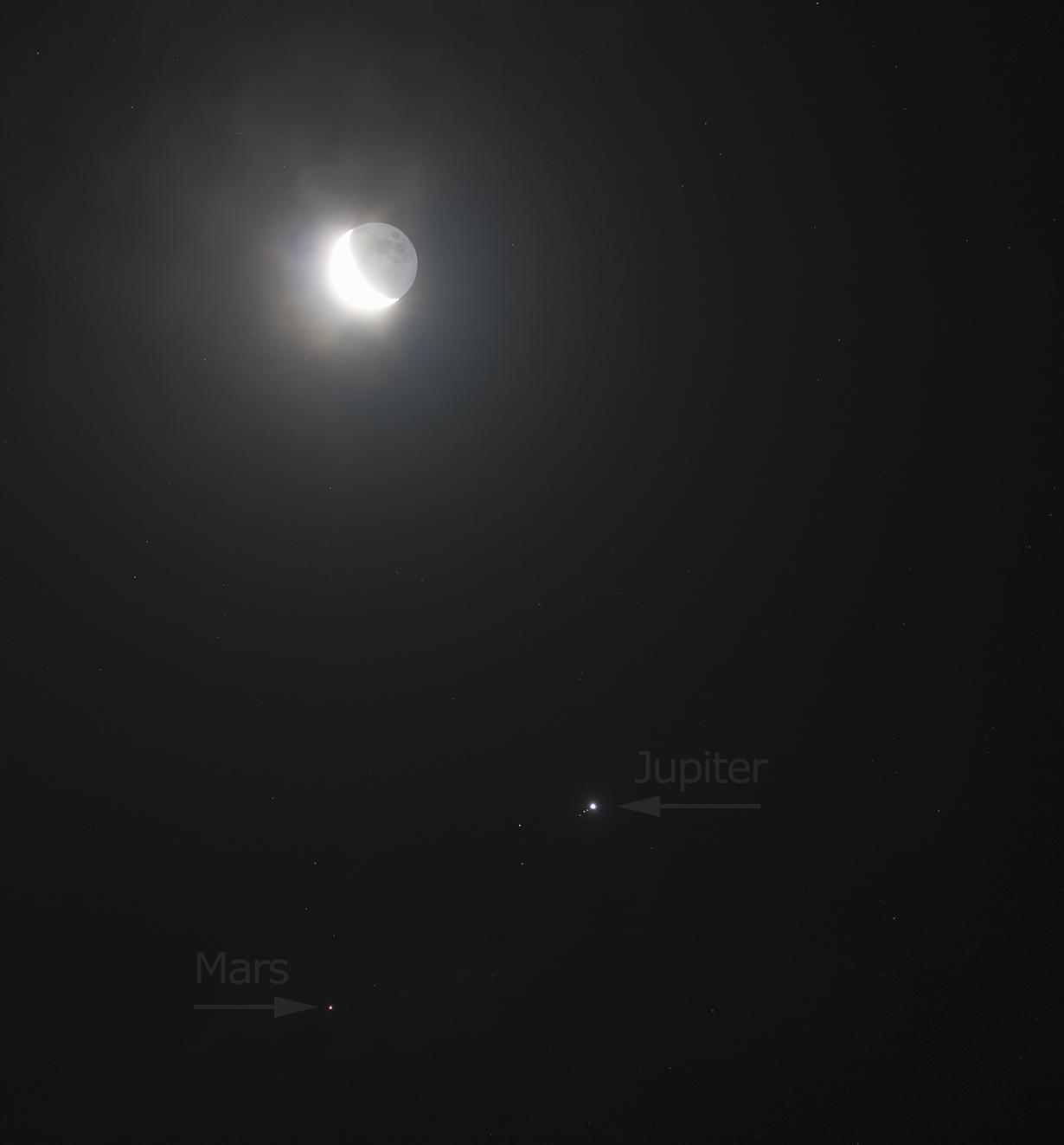 Rencontre Lune Jupiter Mars-20180111