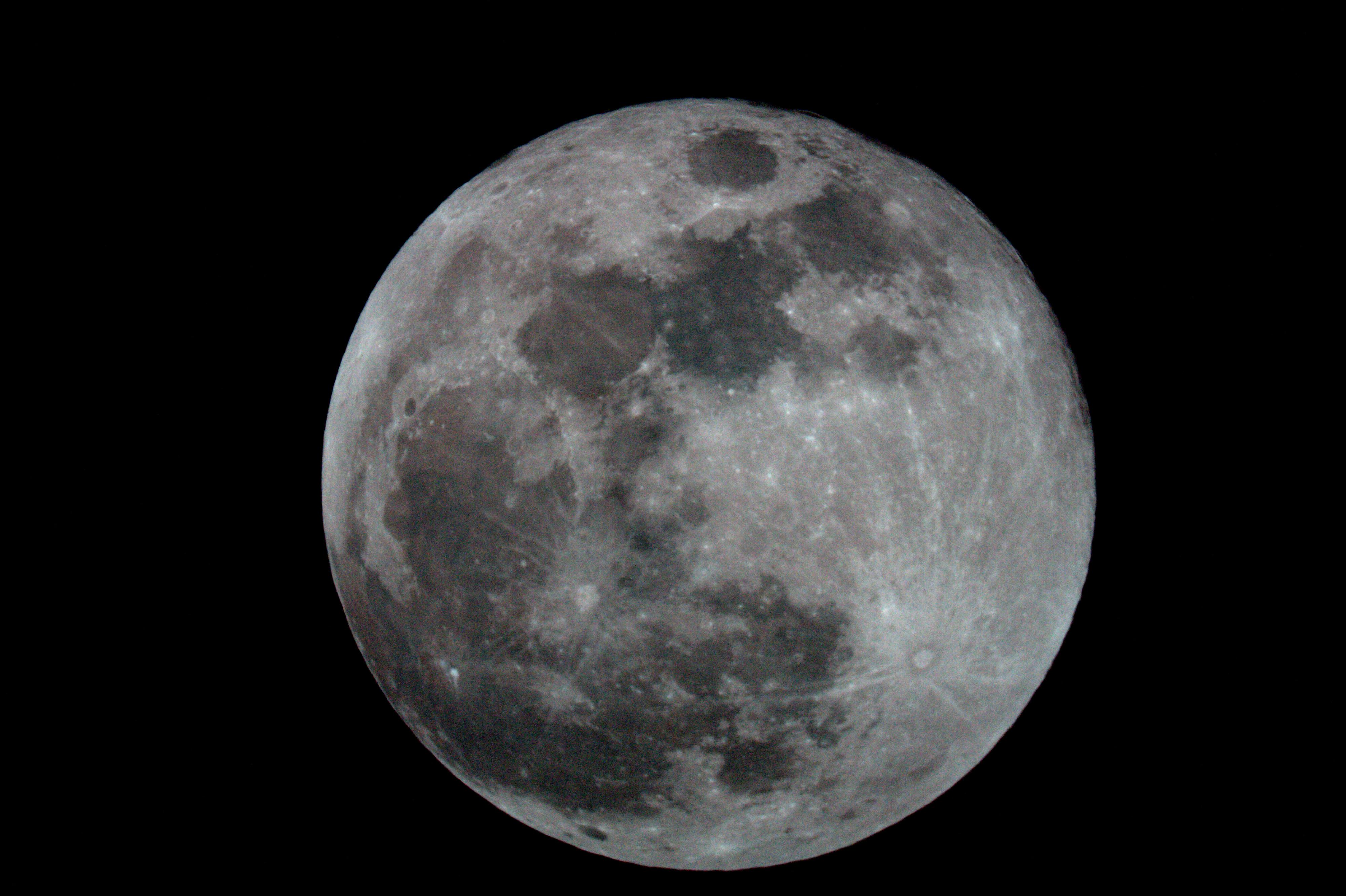 Super Lune du 31/01/2018