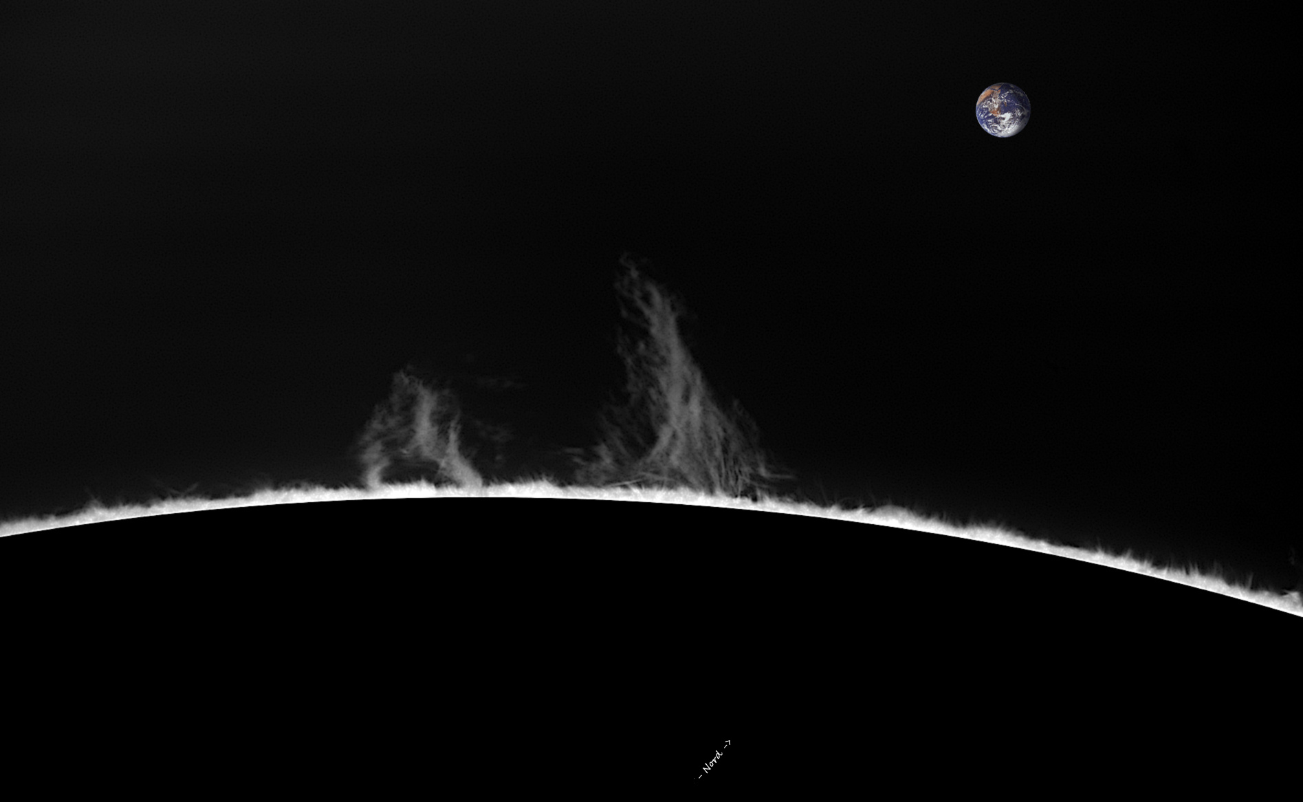 Limbe NE - 320°N - 09 décembre 2018