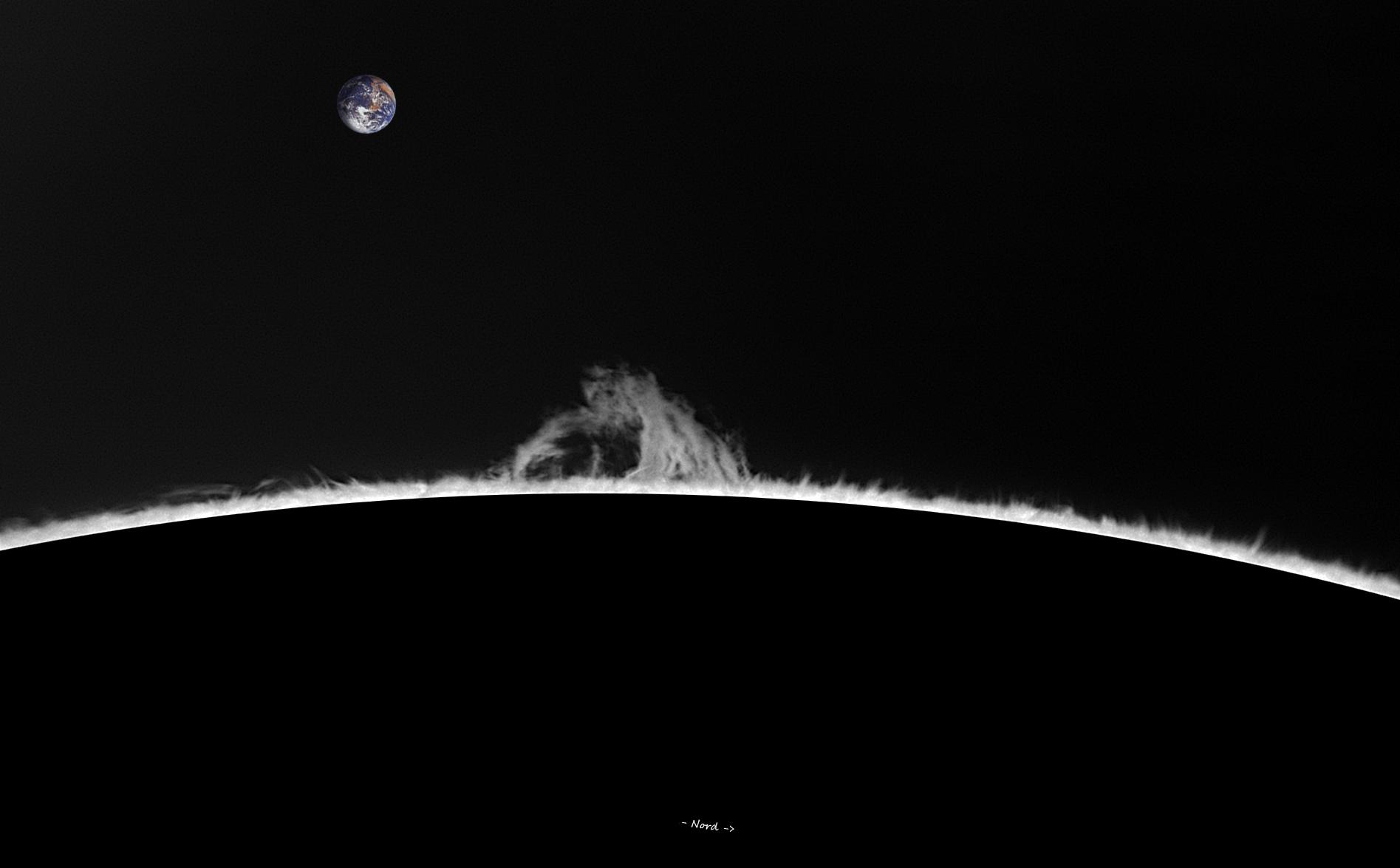 Limbe SE - 262°N - 09 décembre 2018