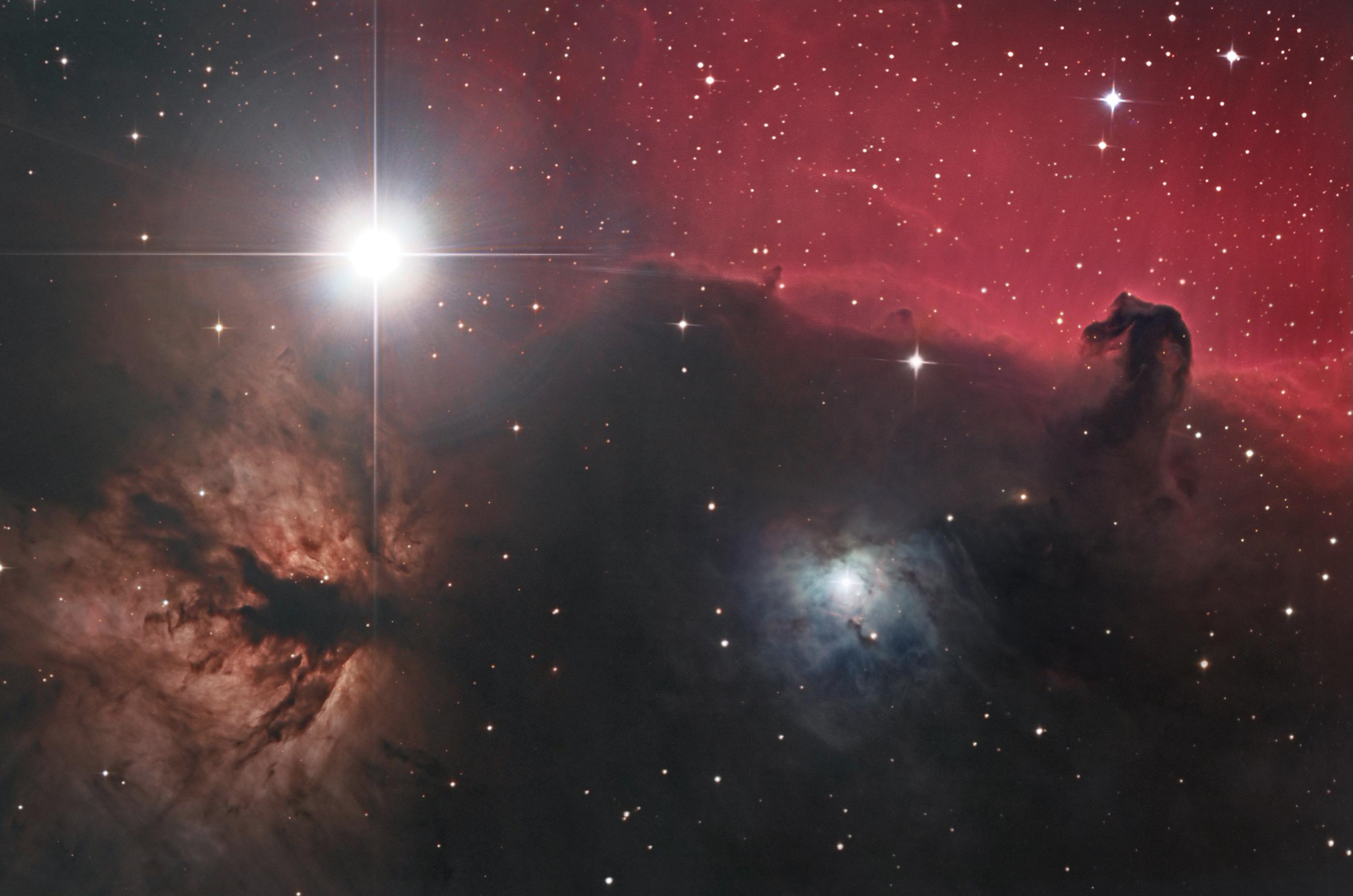 NGC 2024 et IC 434