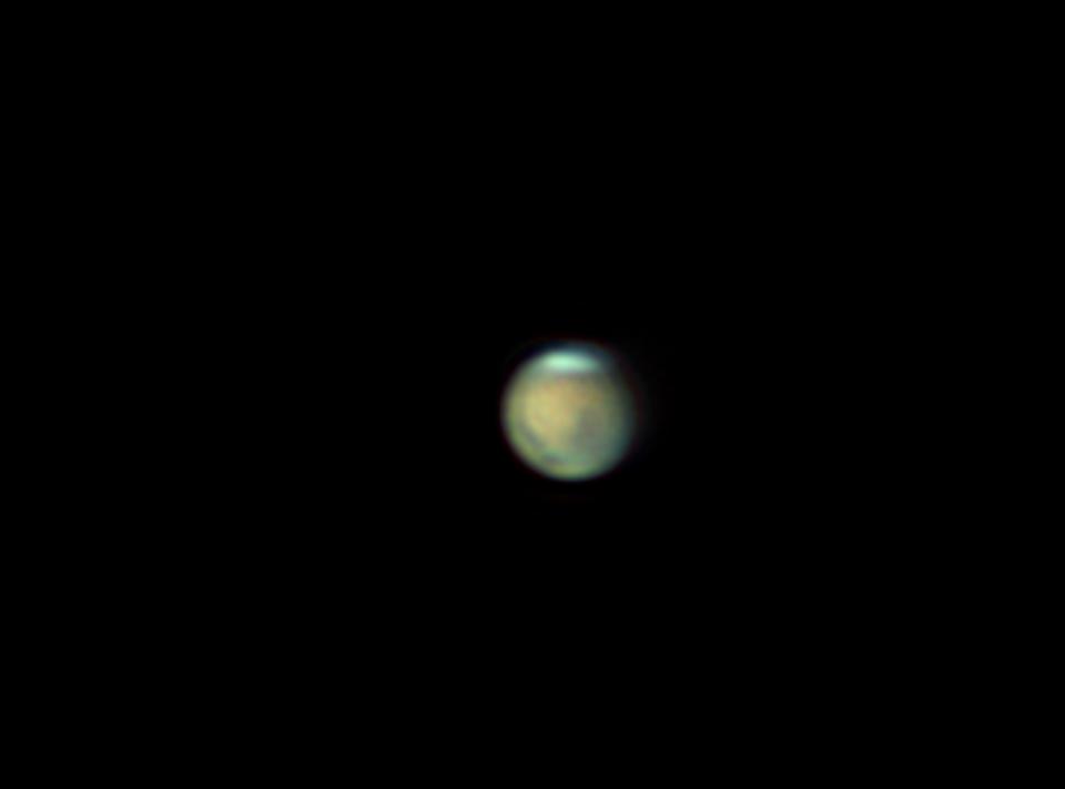 mars du 3/ 10/ 2011 à 4h46 tu :diamètre  apparent  5''2
