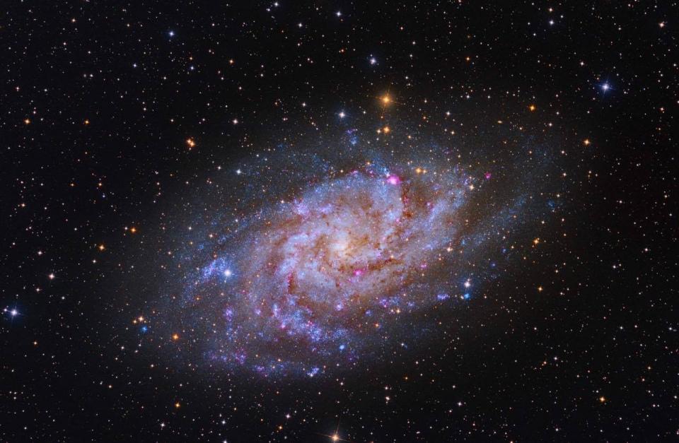 Messier 33 triangulum