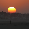 couché soleil Normandie