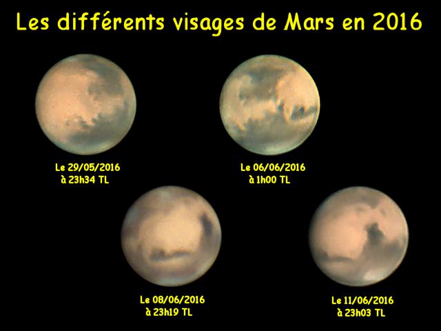 Mars en 2016