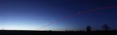 L'Ecliptique mis en valeur par l'alignement planétaire