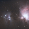 M42 | La nébuleuse d'Orion - Niveaux au maximum