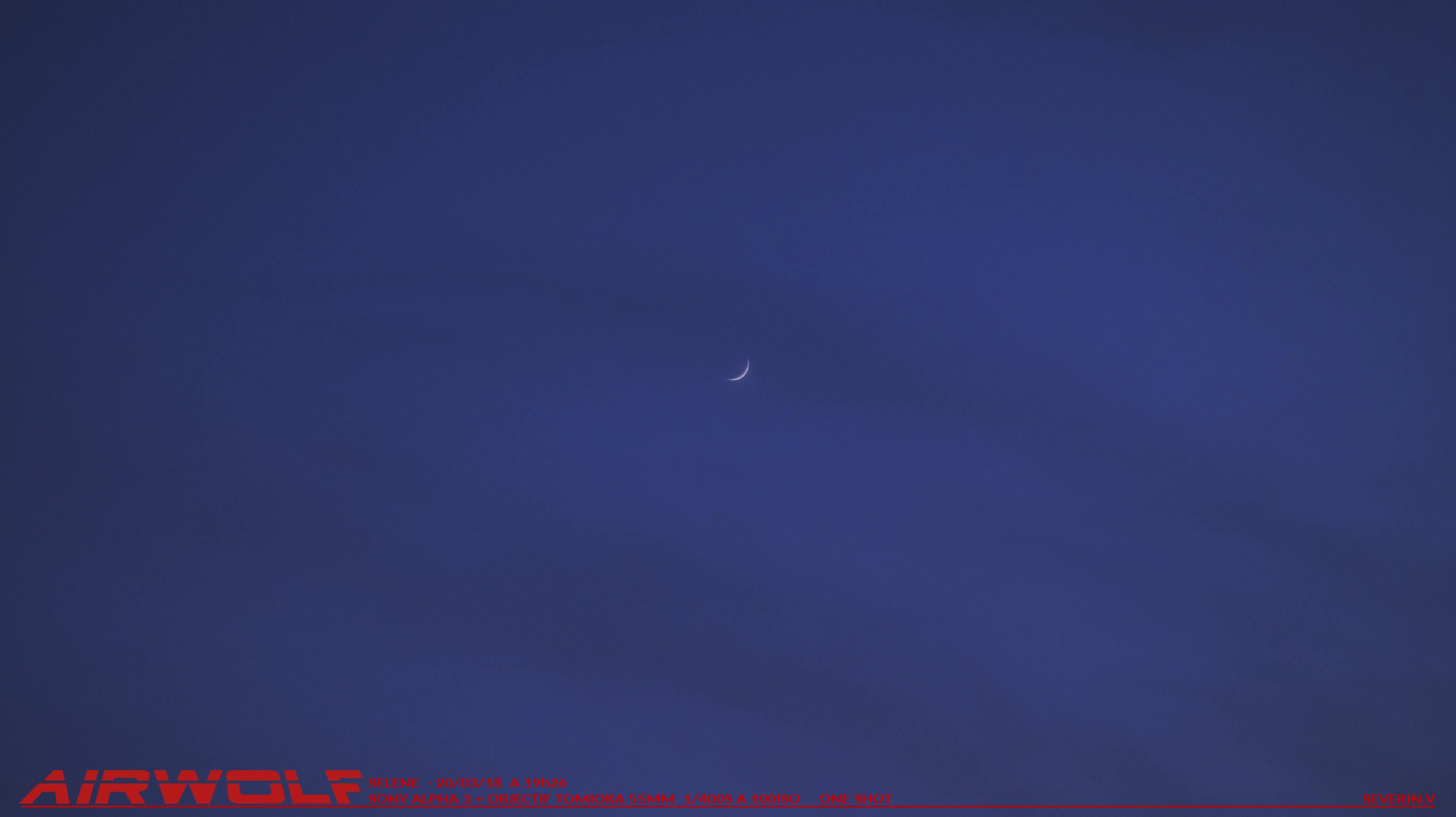 Lune de l'exquinoxe 20/03/18