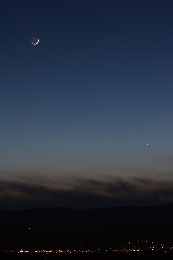 Lune et Vénus 19 mars 2018