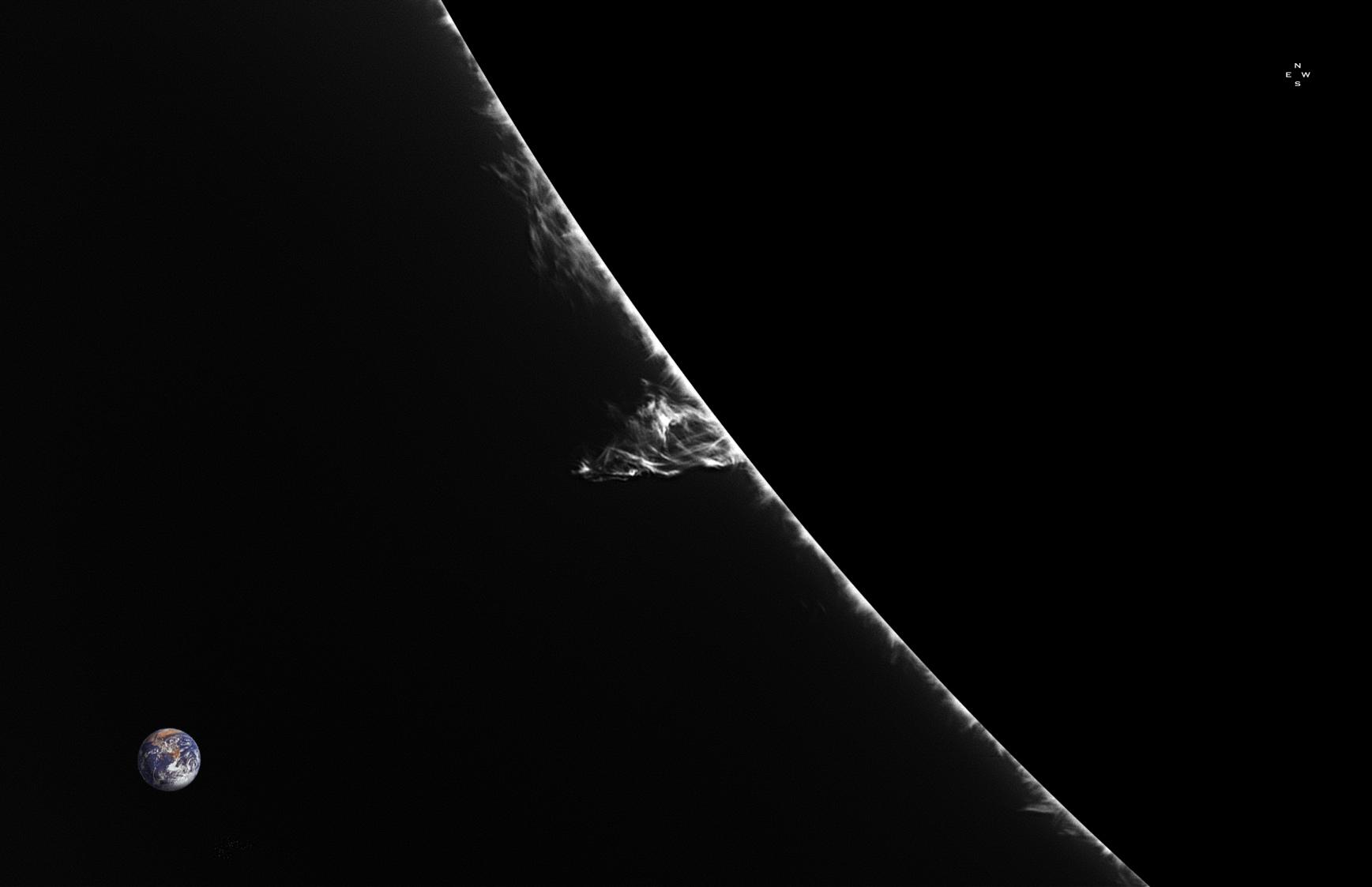 Twist sur le Limbe SE - 227°N - 12 mars 2018