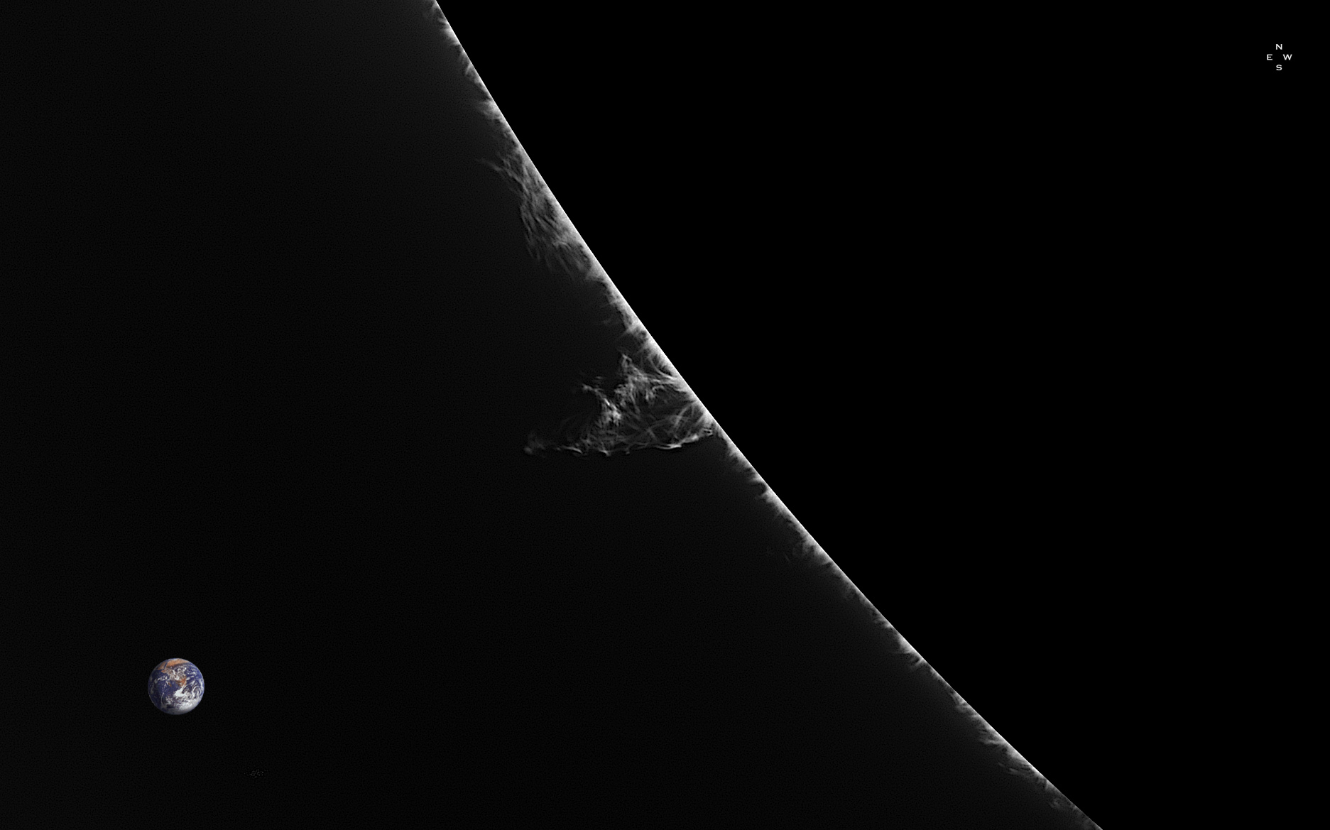 Twist II sur le Limbe SE - 227°N - 12 mars 2018