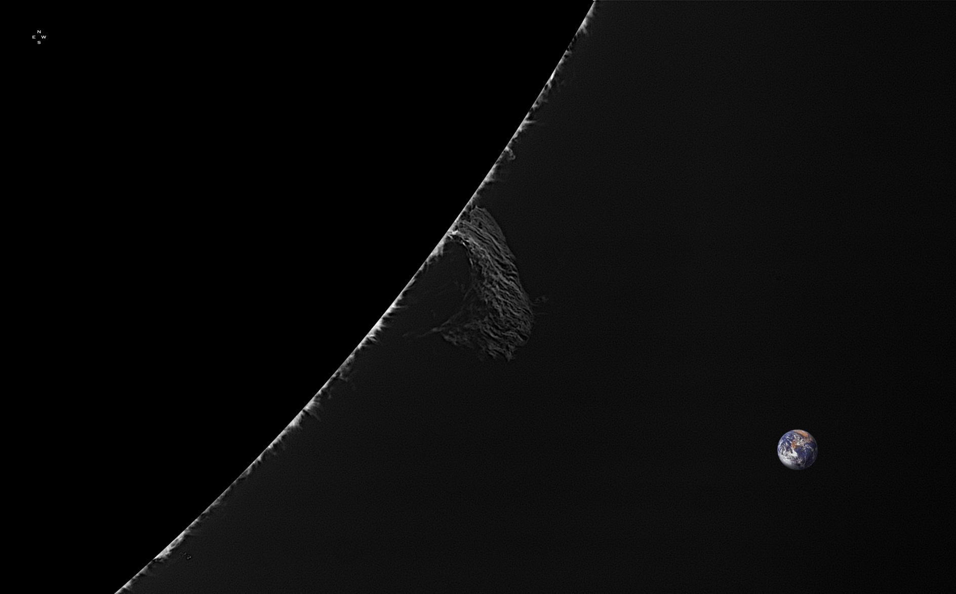 Limbe SW - 132°N - 20 mars 2018