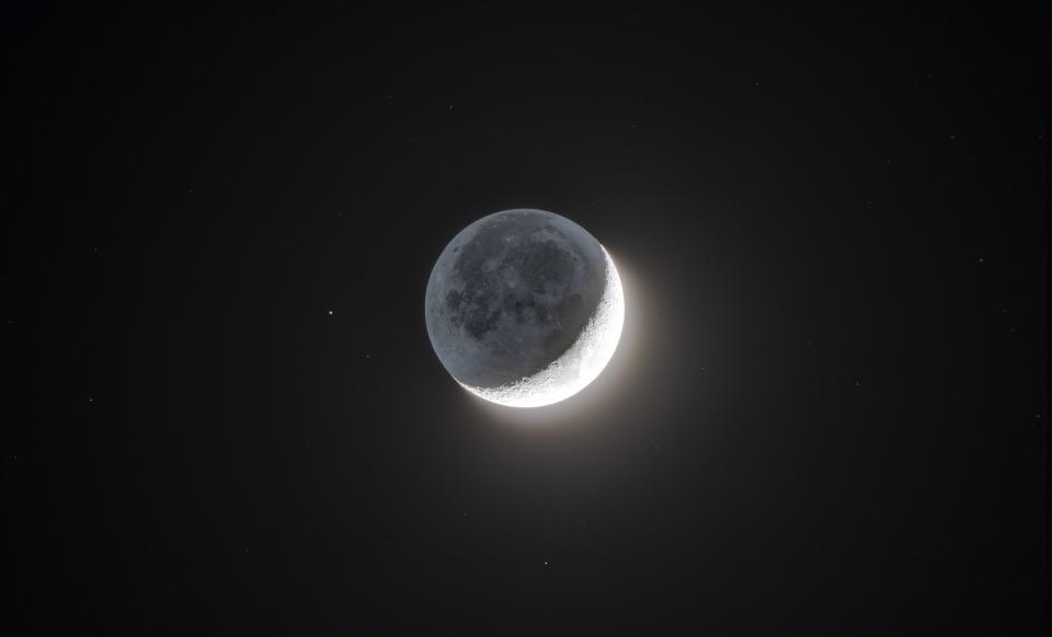 La lune en HDR