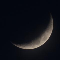 la lune, au soir du 21/03/2018 (39899/909/912JPG)
