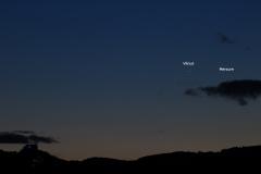Vénus et Mercure le 3 mars 2018