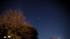 Ciel nocturne au Mont Bernanchon 30-03-18