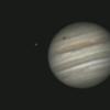 Jupiter ,Europe et son ombre du 11 Avril 18