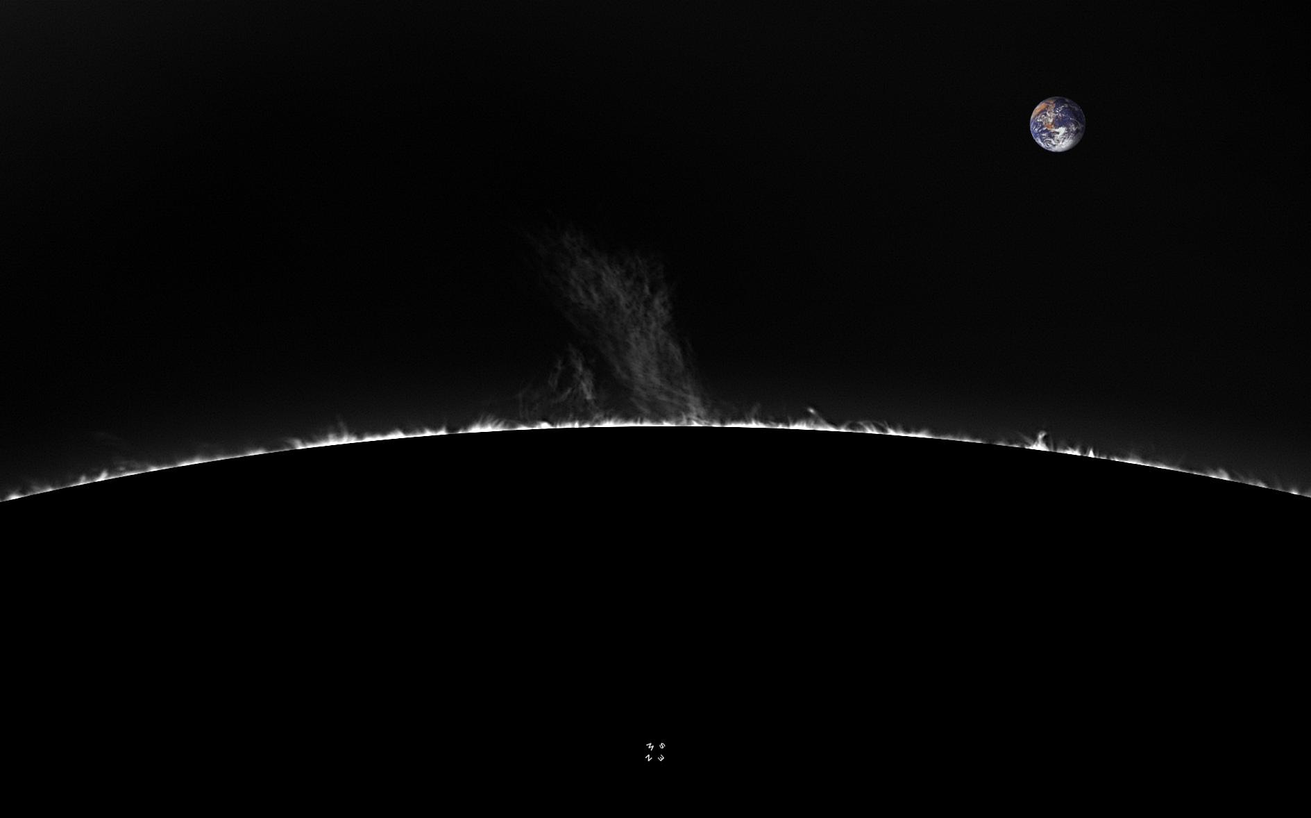 Limbe SW - 137°N - 09 Mai 2018