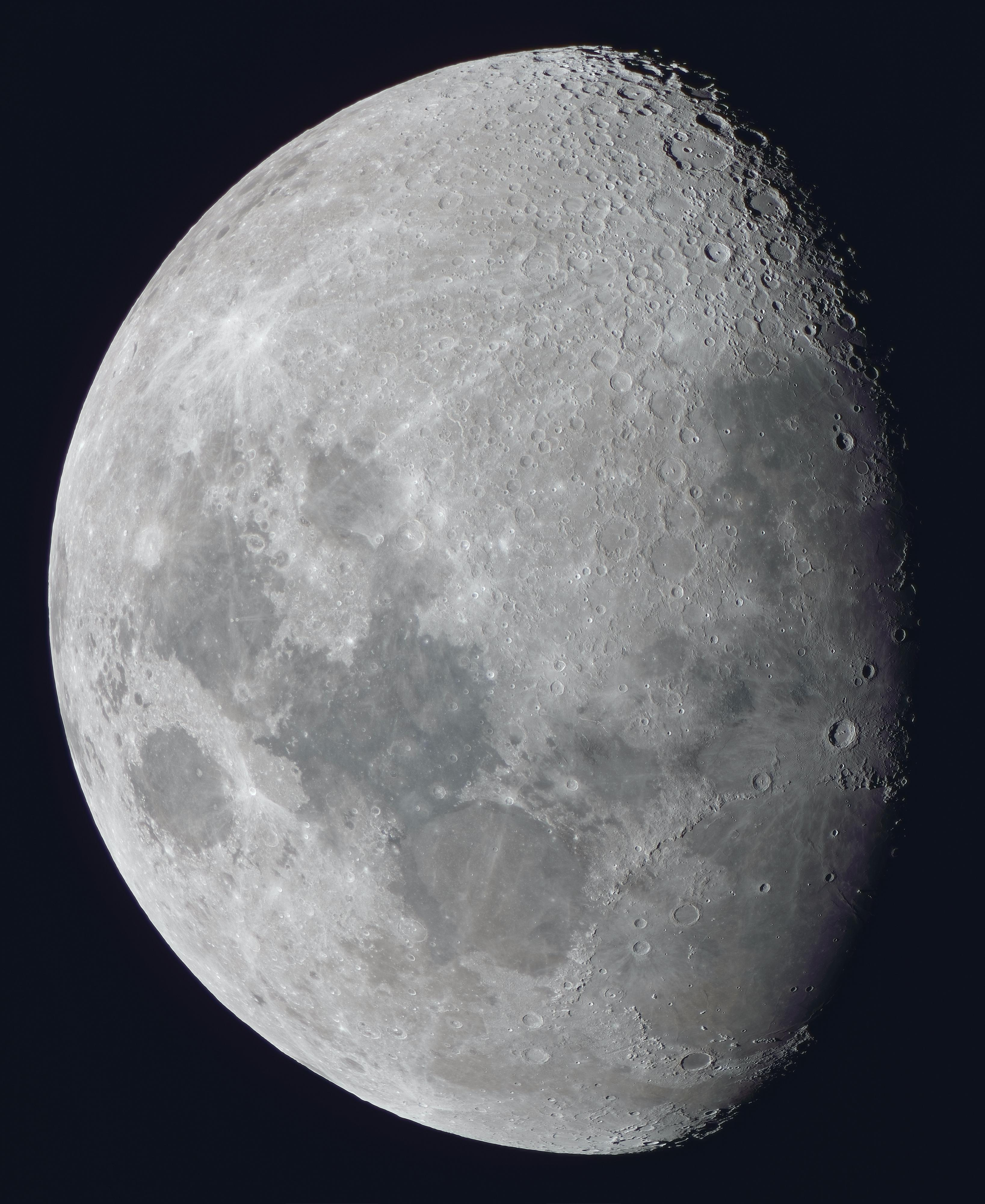 La lune du 24 Mai à la lunette SW 120 ED Black Diamond, et Nikon D810