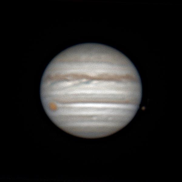 jupiter du 8 mai à 23h58tu et Io