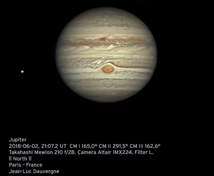 Jupiter 02-06-2018 21:07 L caméra ALTAIRGP224C