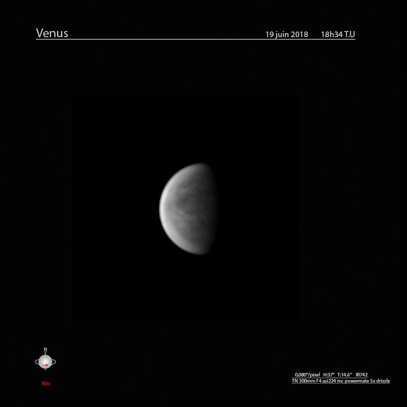 Venus du 19 juin ir742