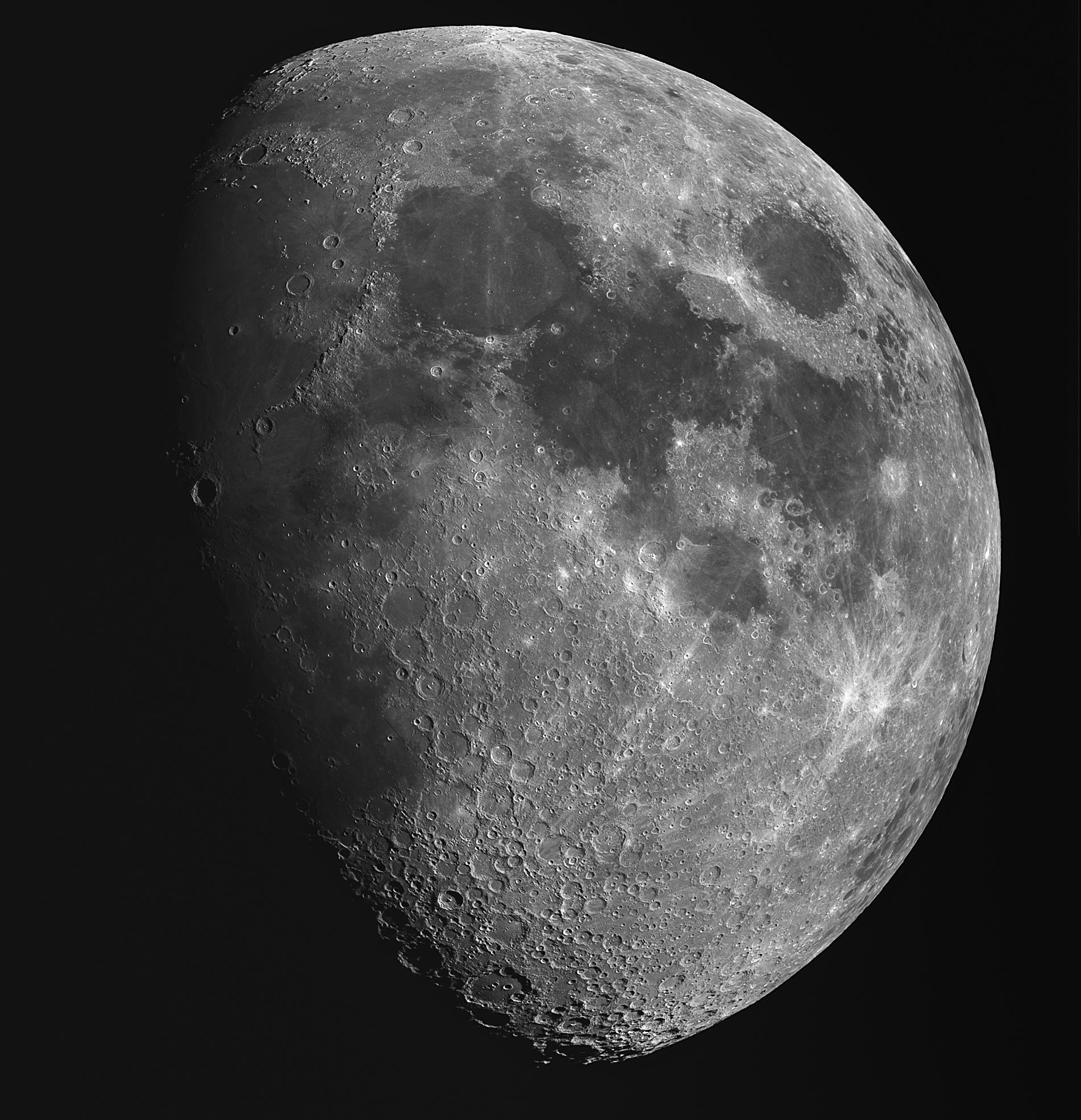 Mosaïque lunaire du 22 juin 2018