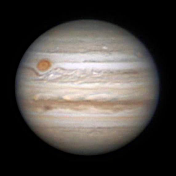 Jupiter le 2 Juin 2018