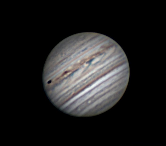 Jupiter et Io le 01/06/2018   21h45 TU