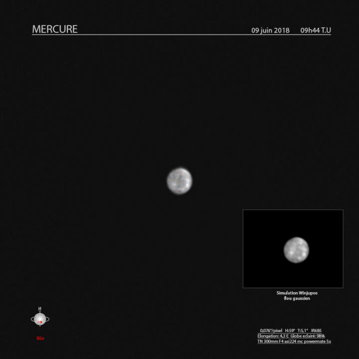 Mercure le 9 juin