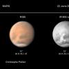Tempêtes de poussière sur Solis Lacus, 22 juin 2018
