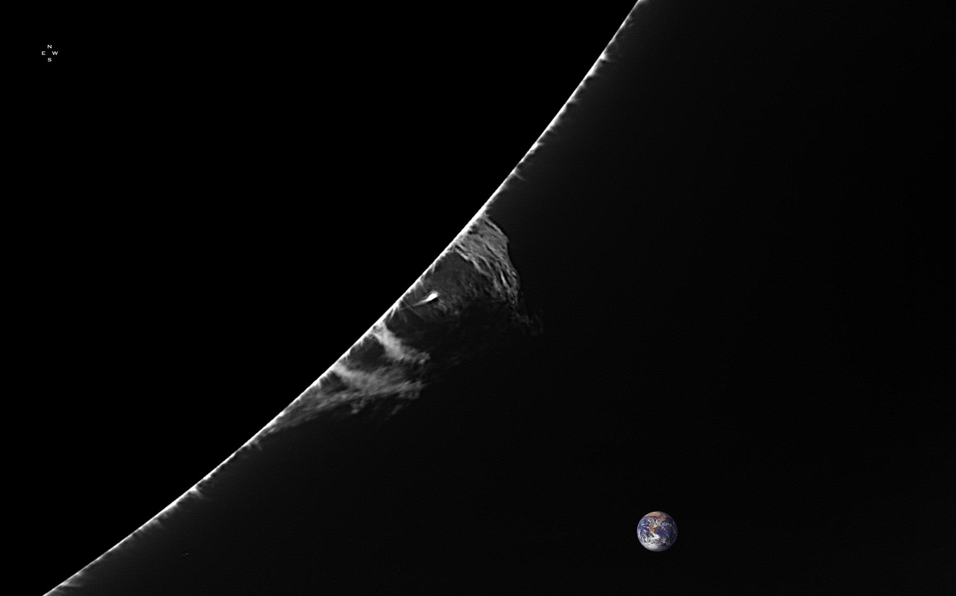 Limbe SW - 138°N - 7 Juillet 2018