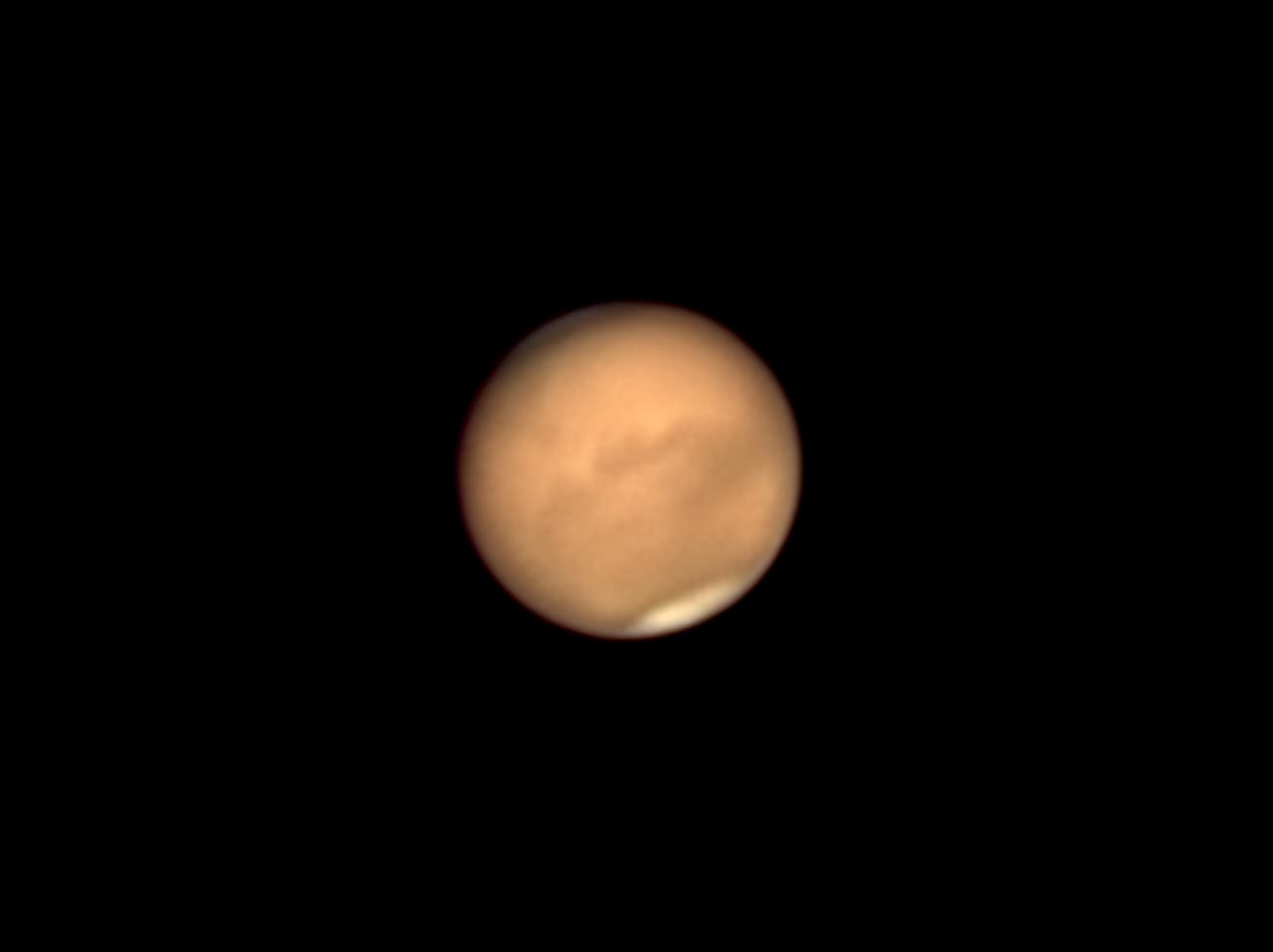 Mars le 30 juillet