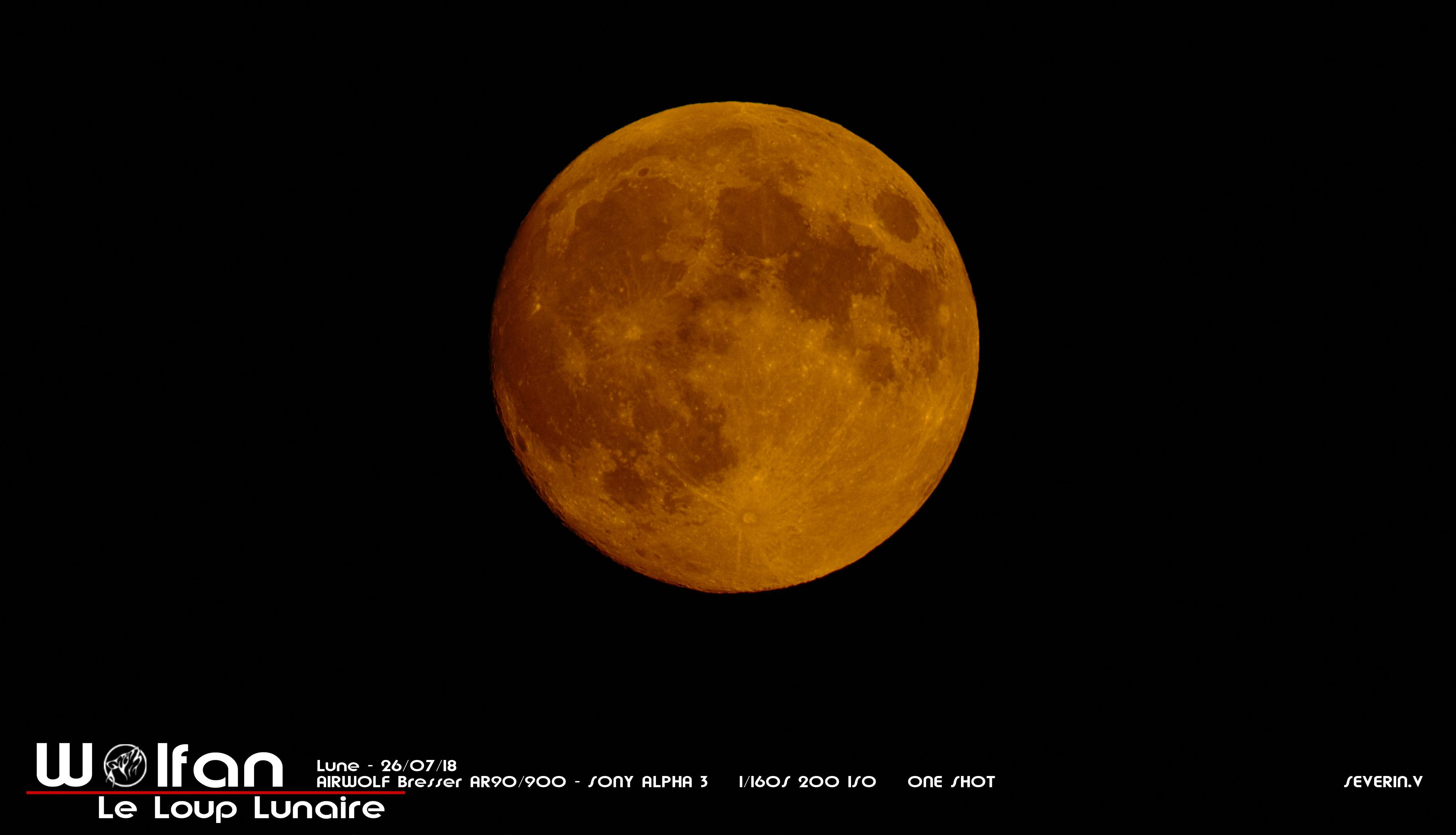 Lune jaune 26/07/18