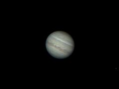 Jupiter, le soir du 4 juillet