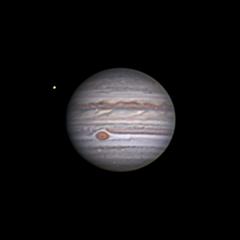 Jupiter et Europe 15 juillet 21H05 TU
