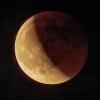 éclipse de lune du 27 juillet 2018