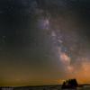 Ciel nocturne à Nasbinals (Aubrac)