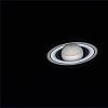 Saturne, Tethys, Encelade, Dioné et Mimas le 7 juillet 2018 23h17 TU