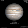 Jupiter en RVB du 12 juin 2018
