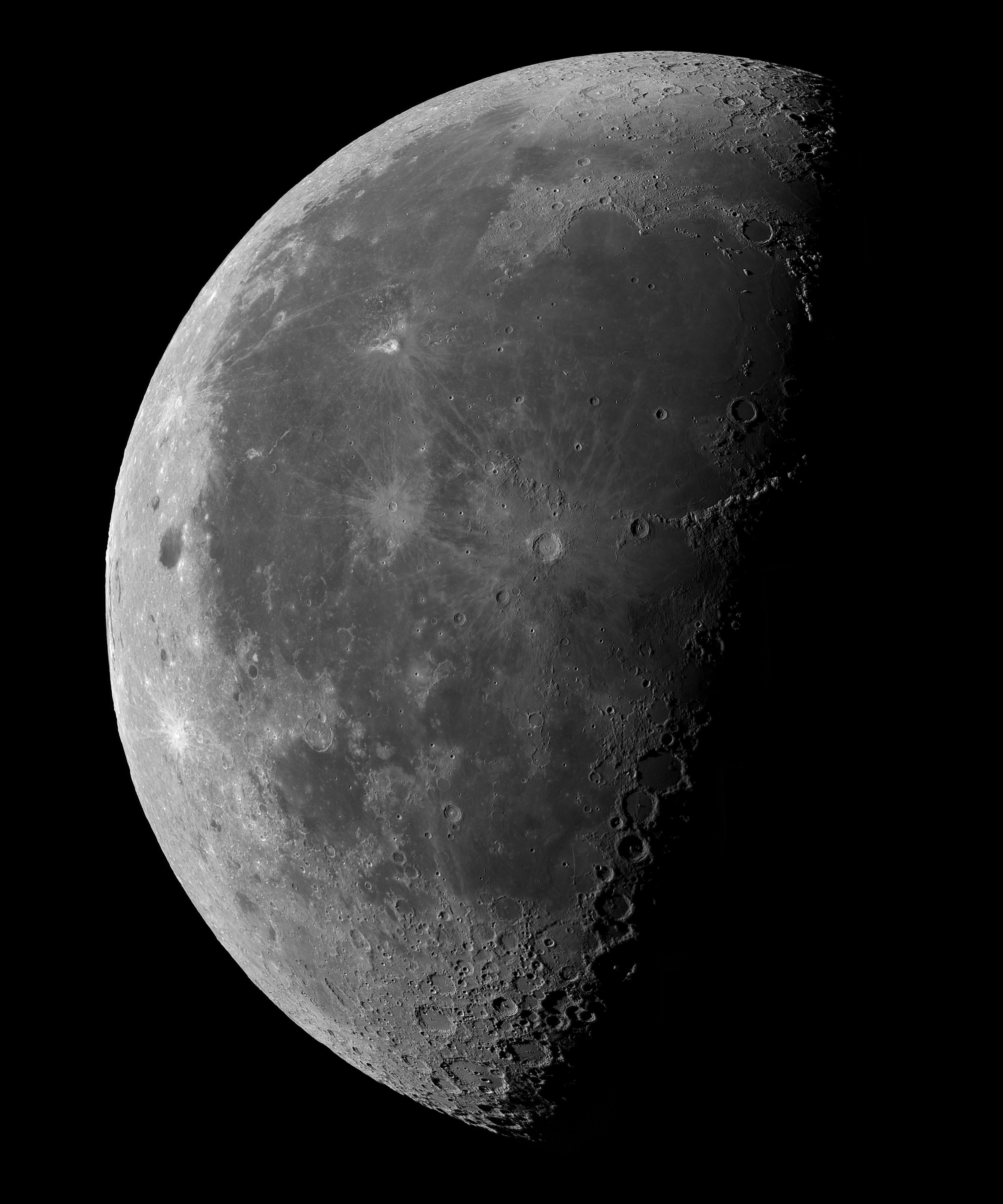 Dernier quartier de Lune, le 04 Août 2018