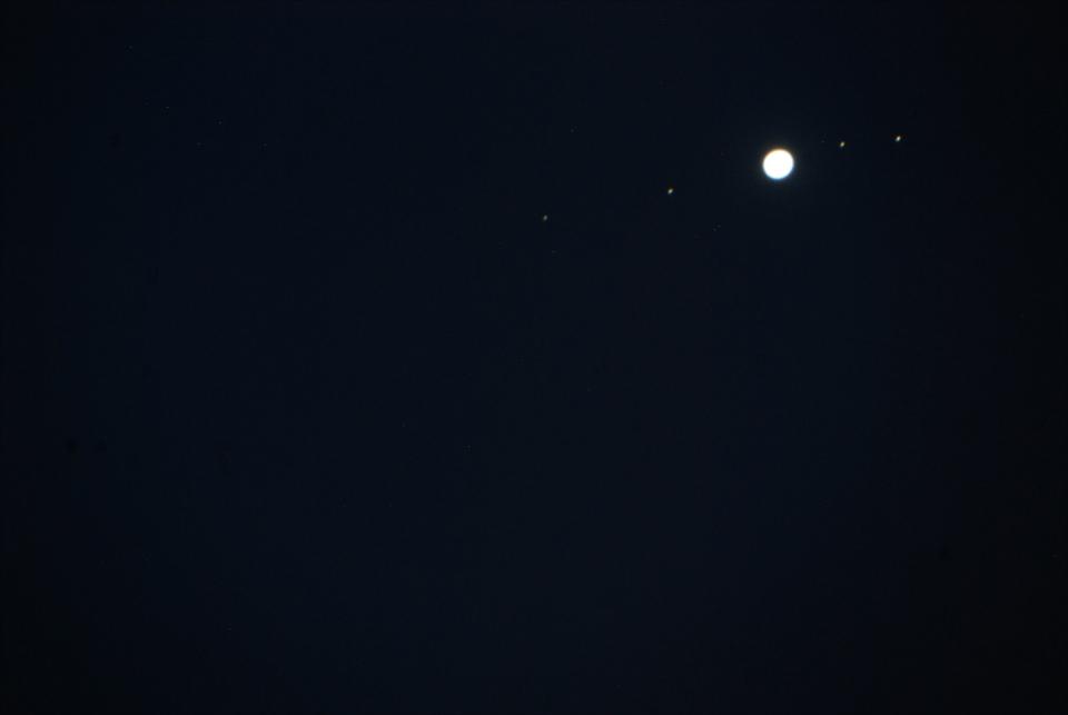 Jupiter et ses satellites....
