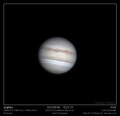 Jupiter 08/08/2018 Mak 127 slt (Sardeigne)