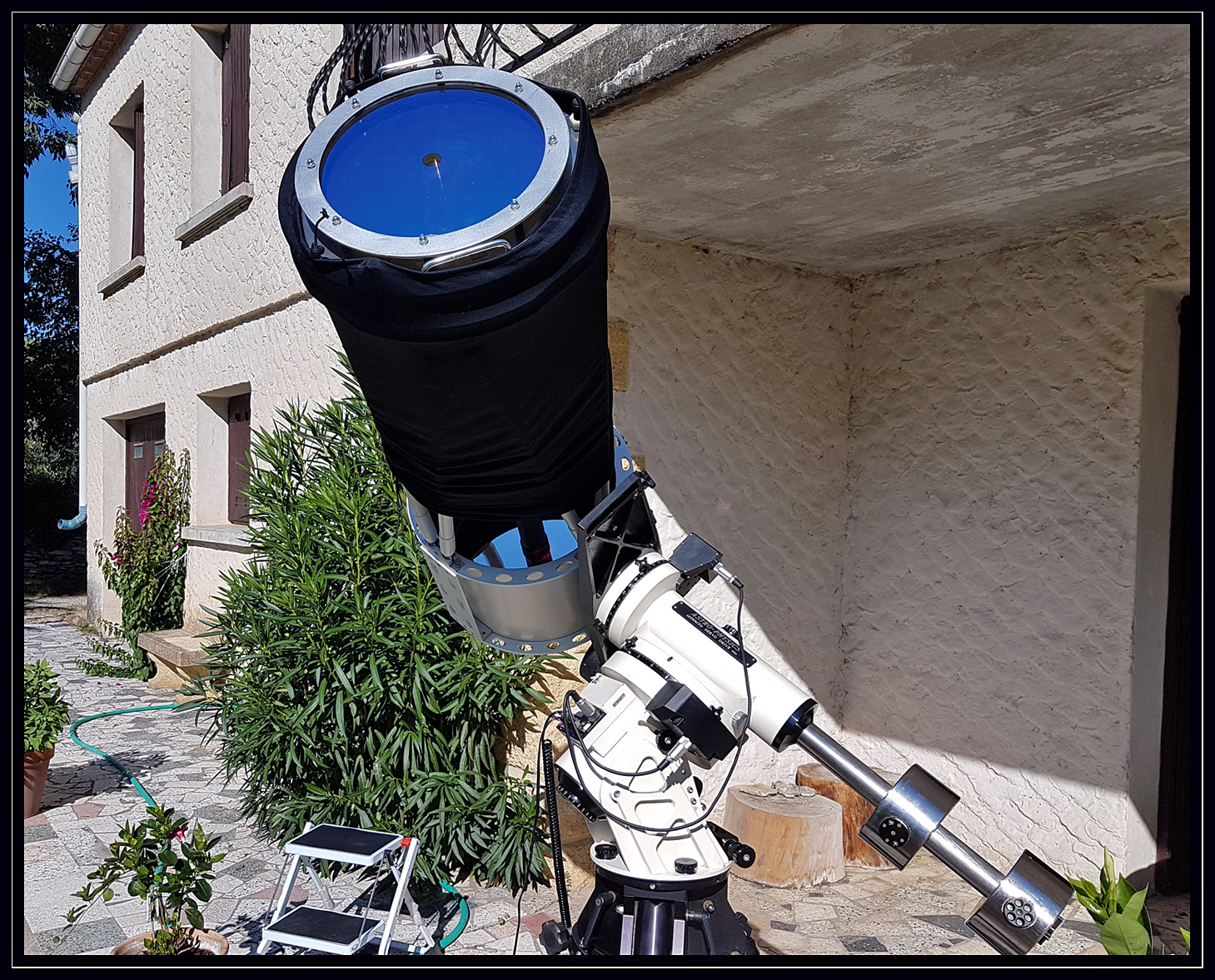 Télescope Cassegrain CFF350 Solaire ( H-Alpha )