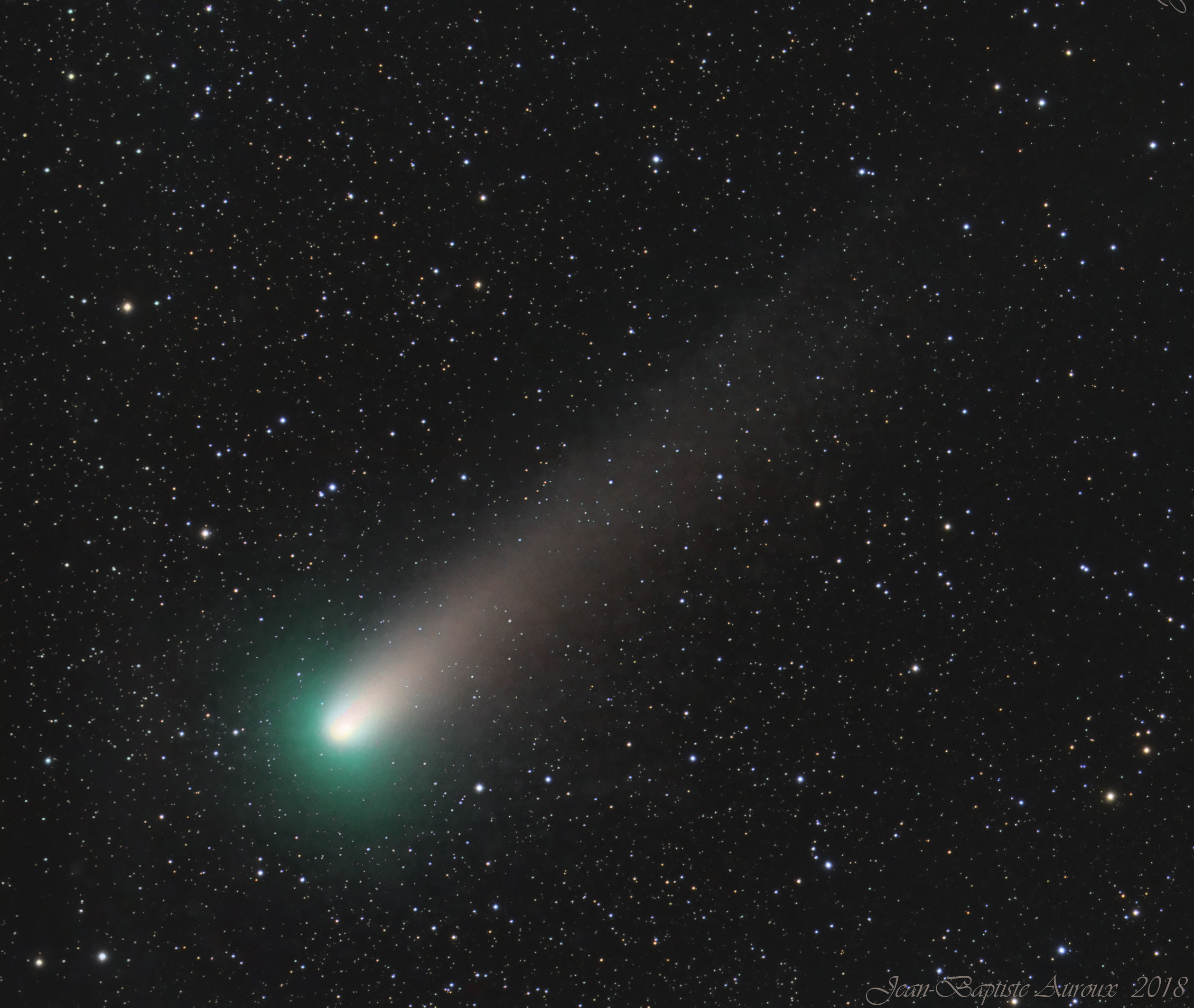 Comète 21P Giacobini-Zinner (LRGB)