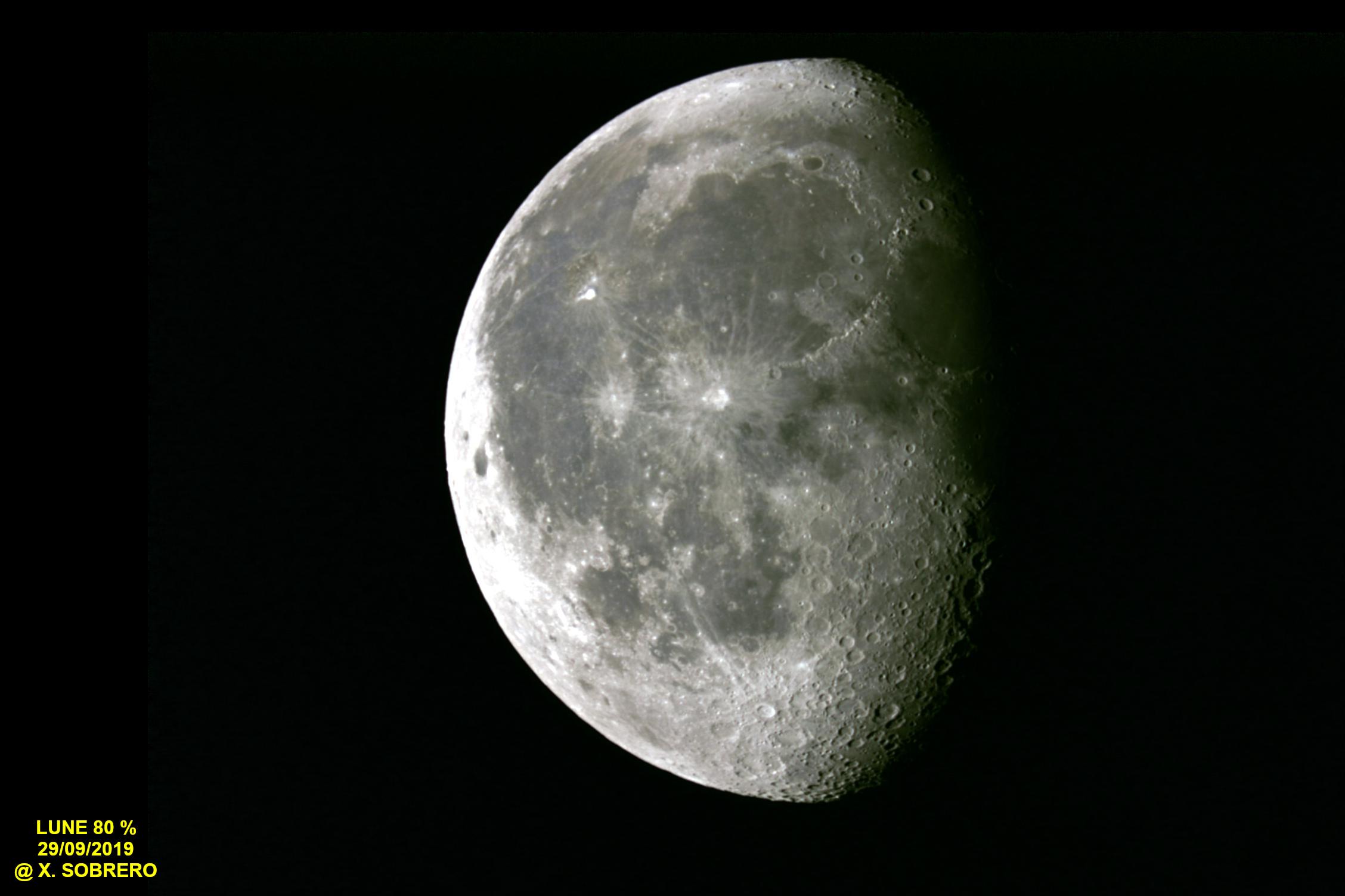 Lune du 29/09/2018