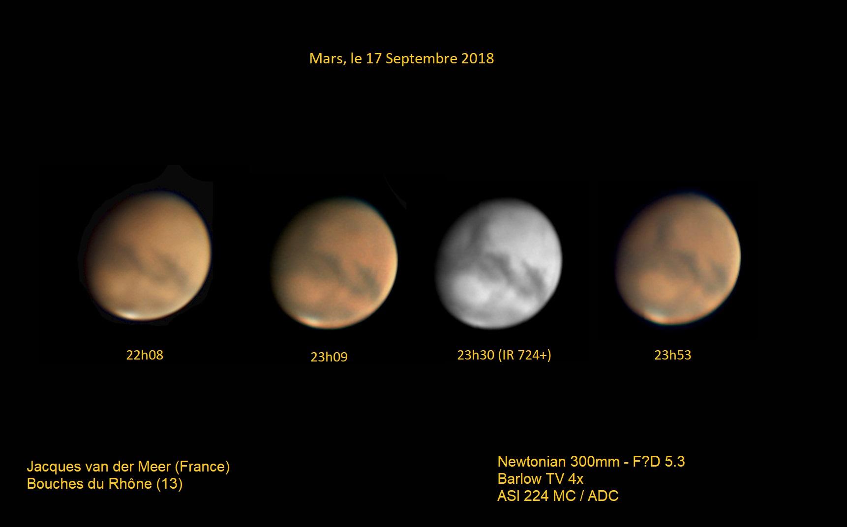 Mars, le 17 Septembre