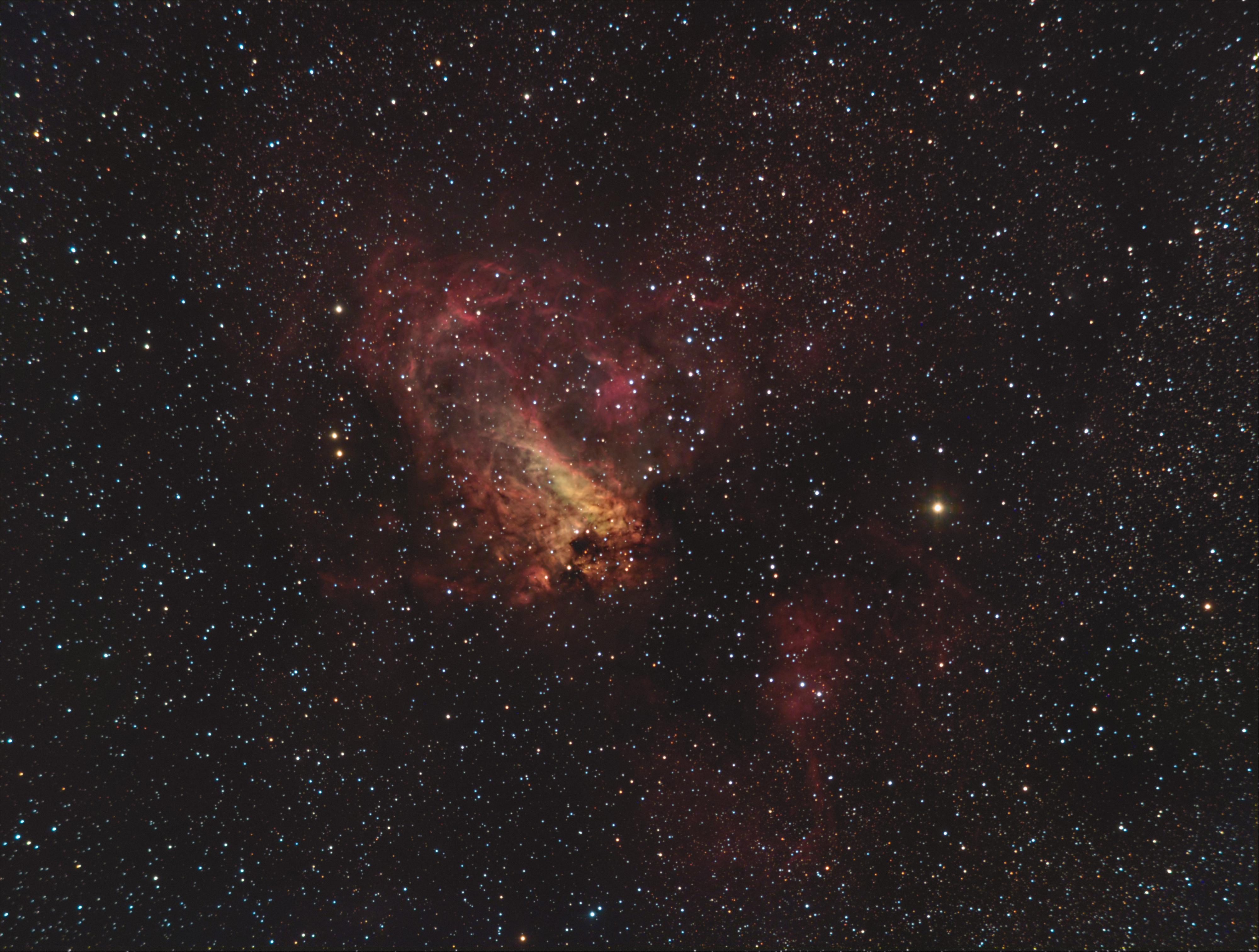 Nébuleuse Oméga M17