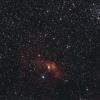 Nébuleuse de la Bulle NGC7635 et Amas ouvert M52